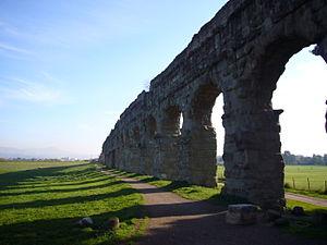 Appian Way Regional Park - Image: Via Appia acquedotti 1010299