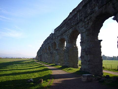 Via Appia acquedotti