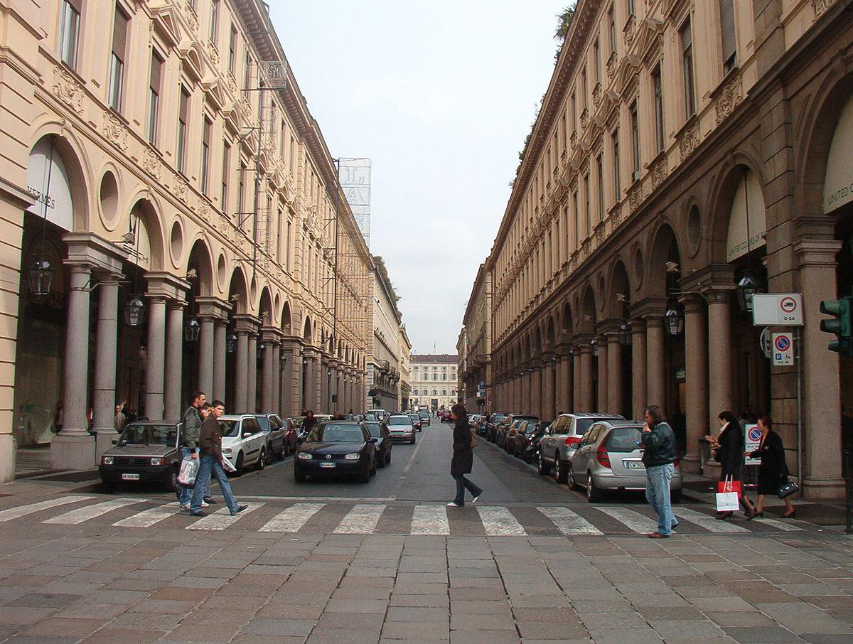 Via roma torino wikipedia for Negozi arredamento torino