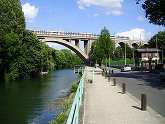 Nogent-sur-Marne - Railway bridge of Nogent-sur-Marne