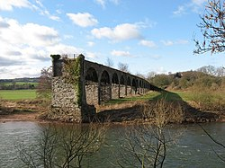 Viaduct, River Wye, near Monmouth - geograph.org.uk - 1179644.jpg