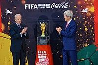 Troph e de la coupe du monde de football wikip dia - Vainqueur coupe du monde 2010 ...