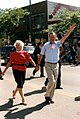 Vice President and Mr. Bush attend the July 4th Parade in Wyandotte, Michigan.jpg