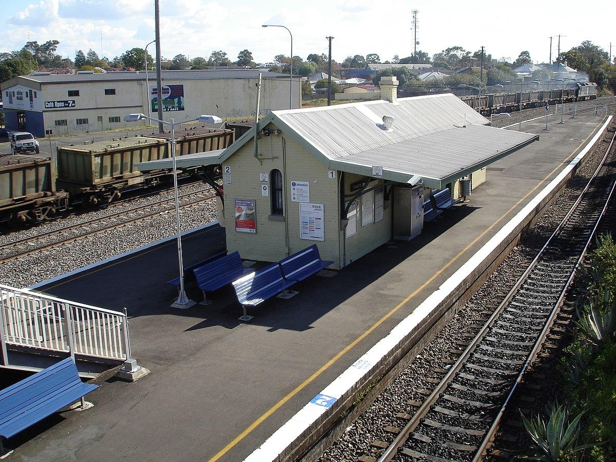 Victoria Street Railway Station New South Wales Wikipedia