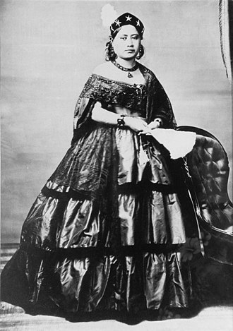 Victoria Kamāmalu - Princess Victoria in 1865, photographed by Charles L. Weed