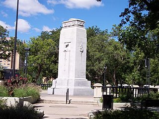 Cenotaph (Regina, Saskatchewan) Located in Regina, Saskatchewan, Canada