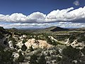 View Looking East from the Harding Pegmatite Mine near Dixon, New Mexico USA 01.jpg