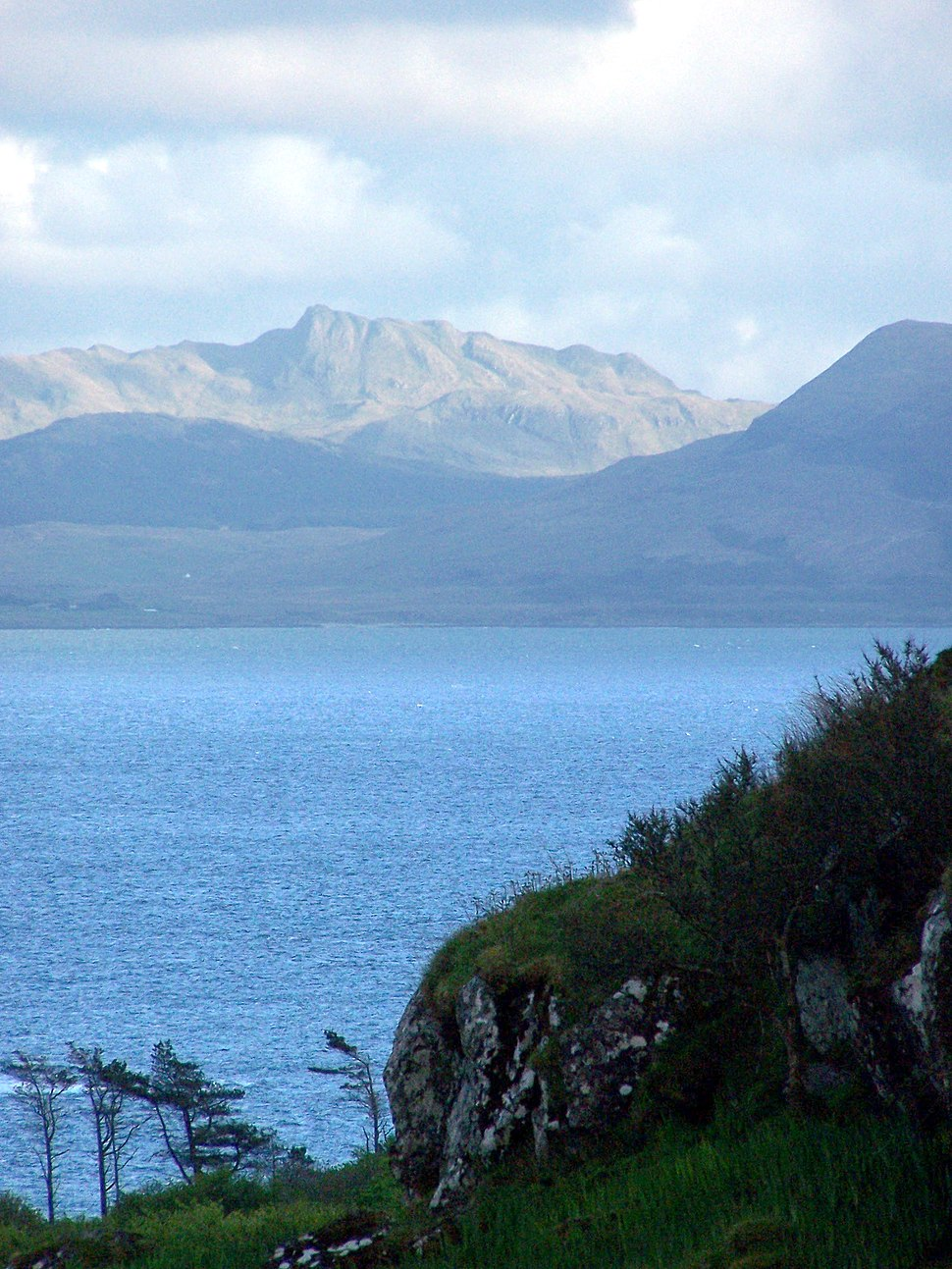 View Of The Mainland From Eigg