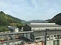 View from train of Sanyo Shinkansen near Shin-Iwakuni Station.jpg