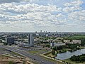 View over Minsk from Observation Platform - National Library - Minsk - Belarus (26937016344).jpg