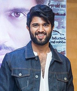 Vijay Deverakonda Indian film actor