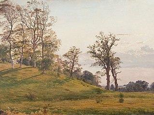 Landskab fra Frederiksborgegnen