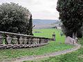 Villa di lappeggi, rampa scalinata dx 05.JPG
