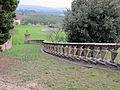 Villa di lappeggi, rampa scalinata sx 08.JPG
