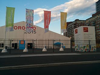 2015 Pan American Games Athletes' Village - The Welcome Centre of the Pan-Am Athlete's Village