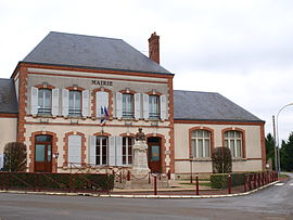 The town hall in Villemoutiers