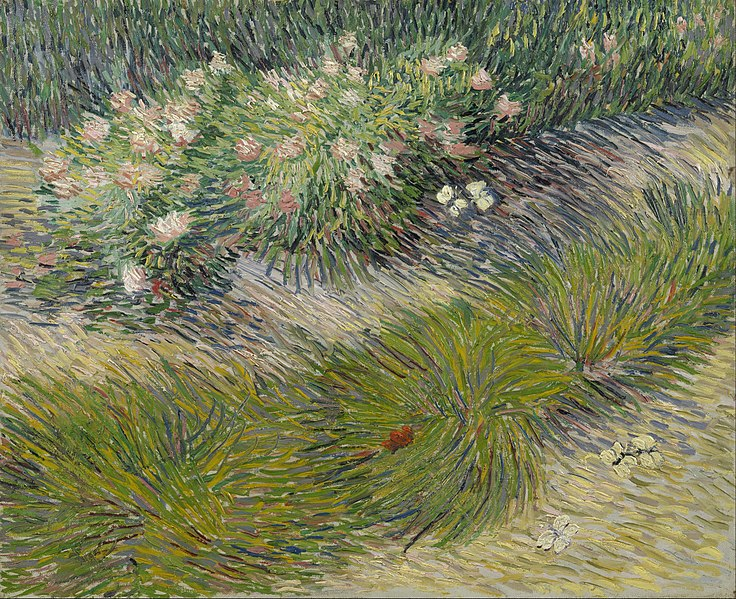 File:Vincent van Gogh - Grass and butterflies - Google Art Project.jpg