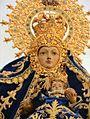 Virgen de Piedraescrita engalanada para la procesión..jpg