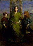Virgin Enthroned 1891 Abbott Thayer.jpg