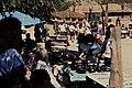 Visitors walking through a market with Native American selling in Santa Clara, California (d34acc605a4d495ca5694326e70bc48c).jpg