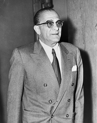 Genovese crime family - Vito Genovese was boss from 1957–1969