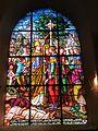 Vitrail sud chœur église Saint-Ouen du Tronquay.JPG