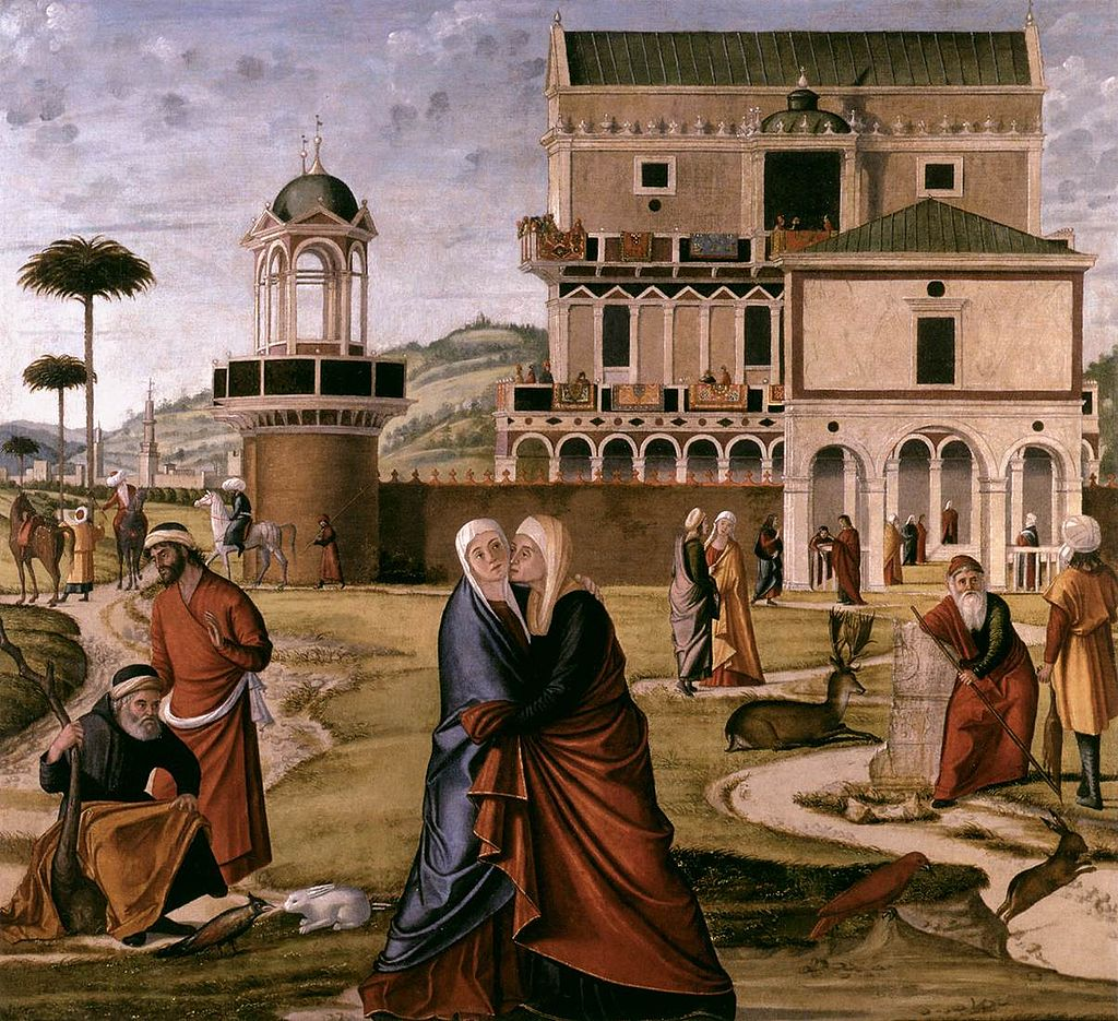 Vittore Carpaccio - The Visitation - WGA04330