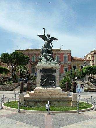 Vittoria, Sicily - Image: Vittoria Piazza del Popoplo