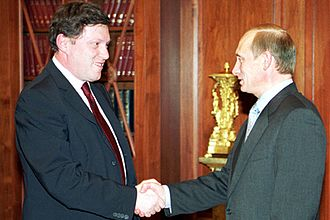 Grigory Yavlinsky - President Putin with Yavlinsky in 2000