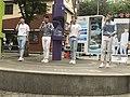 Voisper busking on Arisu Stage in Sinchon 5.jpg