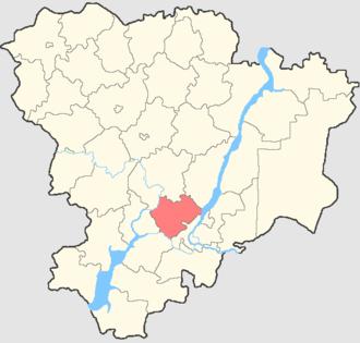 Gorodishchensky District, Volgograd Oblast - Image: Volgogradskaya oblast Gorodishchensky rayon