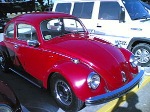 Red Volkswagen Bug