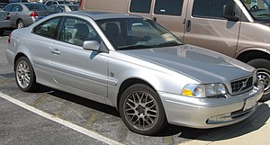 Volvo C70 photographed in USA.