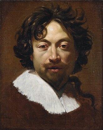 Simon Vouet - Self-portrait of c.1626-1627  (Musée des Beaux-Arts de Lyon)