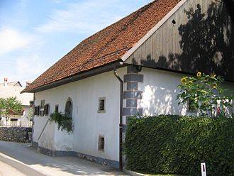 France Prešeren - Prešeren's birthplace in Vrba