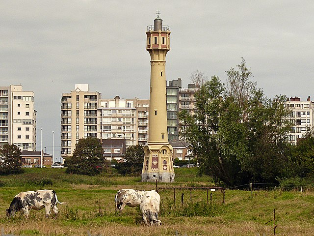 High lighthouse of Heist