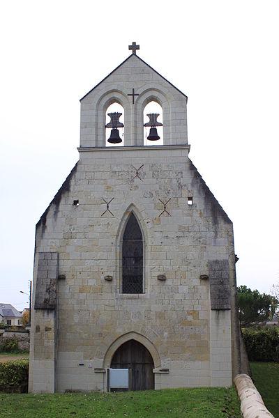 Église Saint-Sulpice de Rou, Fr-49-Rou-Marson.