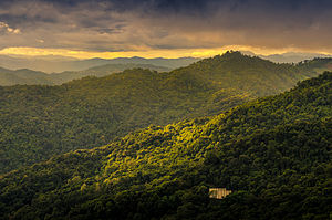 Thanon Thong Chai Range - Landscape in Doi Suthep National Park