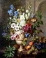 WLANL - Sandra Voogt - Bloemen in een albasten vaas en vruchten op een marmeren blad.jpg
