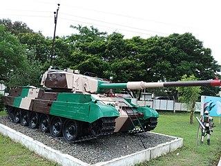 <i>Vijayanta</i> Type of Main battle tank