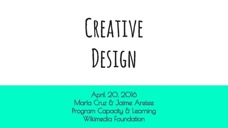 File:WMCON 2016 - Learning Day - Creative Design Workshop.pdf