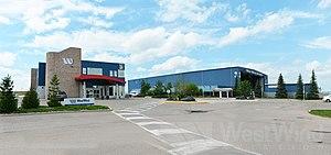 West Wind Aviation - Main Buildings for West Wind Aviation in Saskatoon.