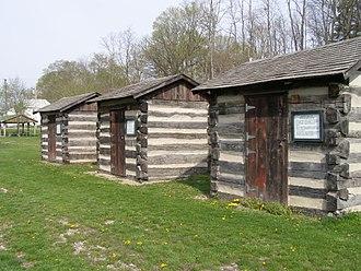 Wabash, Indiana - Image: Wabash Indiana Paradise Springs Council Cabin
