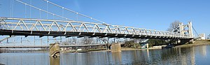 Waco Suspension Bridge - Waco Suspension Bridge in 2007