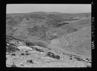 Wady Sha'ib Es-Salt, Amman, etc. 'Hesban' (Heshbon). City of Sihon, King of the Amorites LOC matpc.15297.jpg