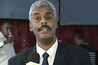 Sudanese Shadow Government - Wael Omer Abdin, one of the SSG's founders
