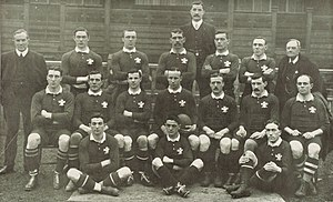 Wales national rugby union team - Wales' 1905 team that defeated New Zealand