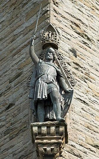 David Watson Stevenson - Wallace on the Wallace Monument