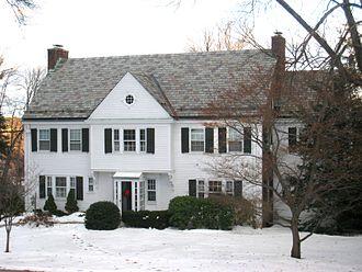 Wallace Stevens - Stevens' Hartford residence.