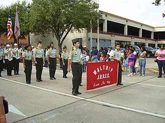 Waltrip High School - Waltrip JROTC, 2013 Martin Luther King Day Parade in Midtown Houston